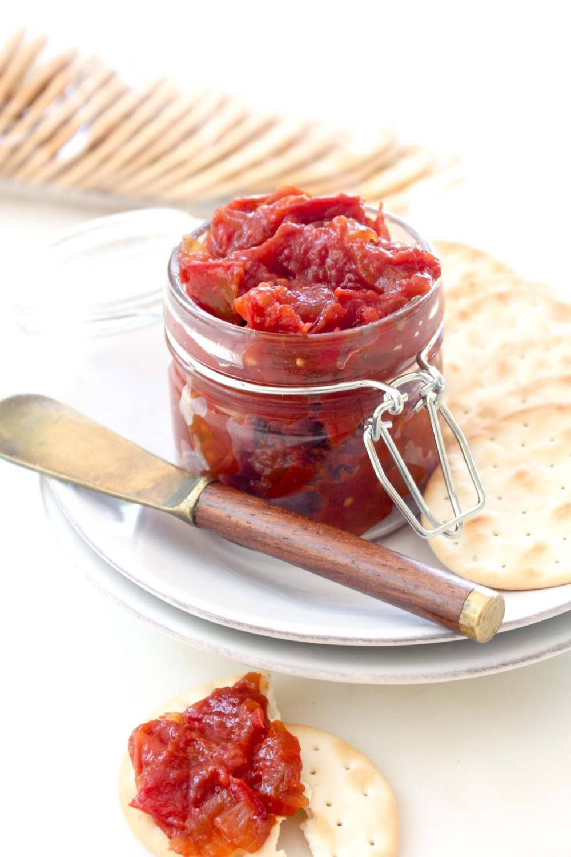 Summer Harvest Tomato Jam Recipe | HeyFood — heyfoodapp.com