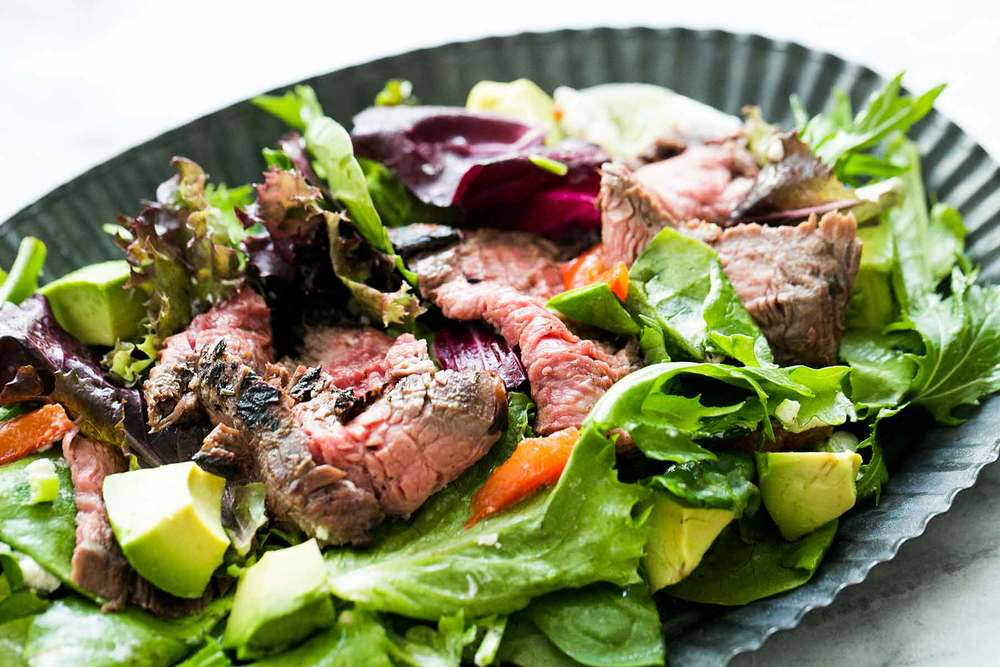 Steak Salad Recipe | HeyFood — heyfoodapp.com