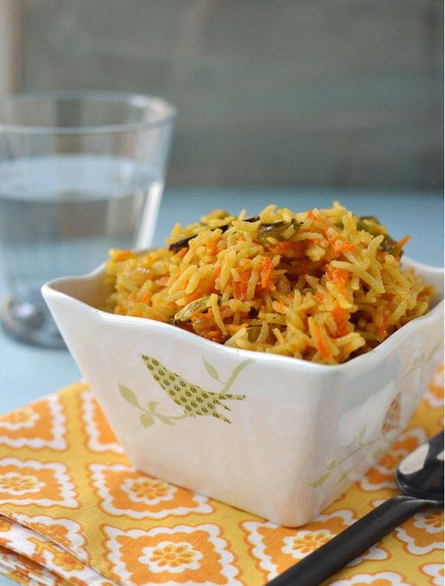 Carrot Rice Recipe | HeyFood — heyfoodapp.com