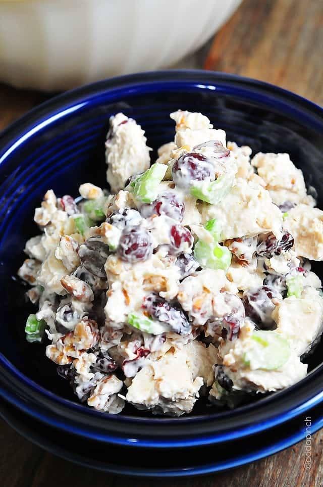 Chicken Salad With Grapes Recipe Recipe | HeyFood — heyfoodapp.com