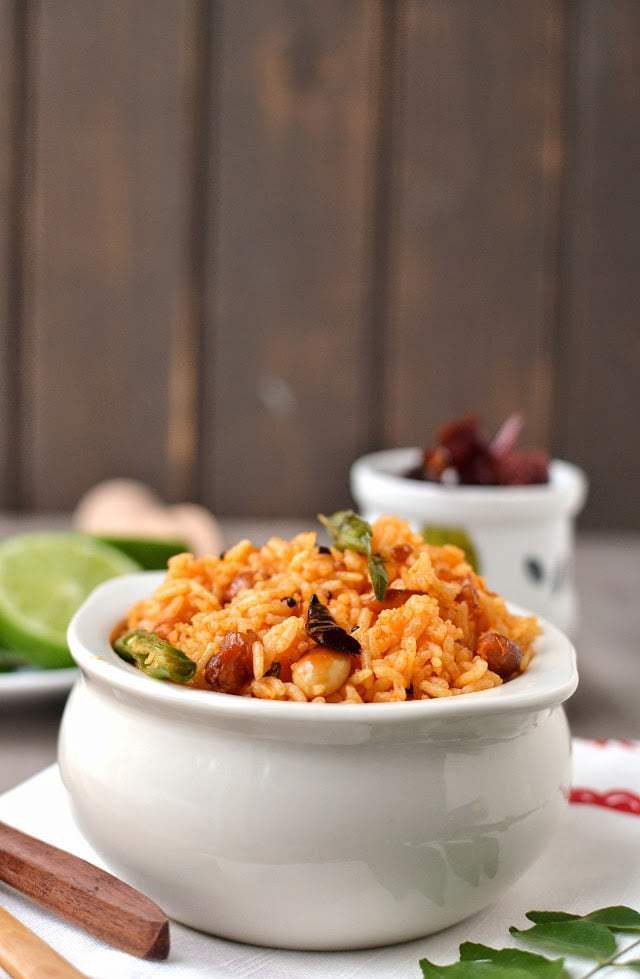 Tomato Pulihora Recipe | HeyFood — heyfoodapp.com