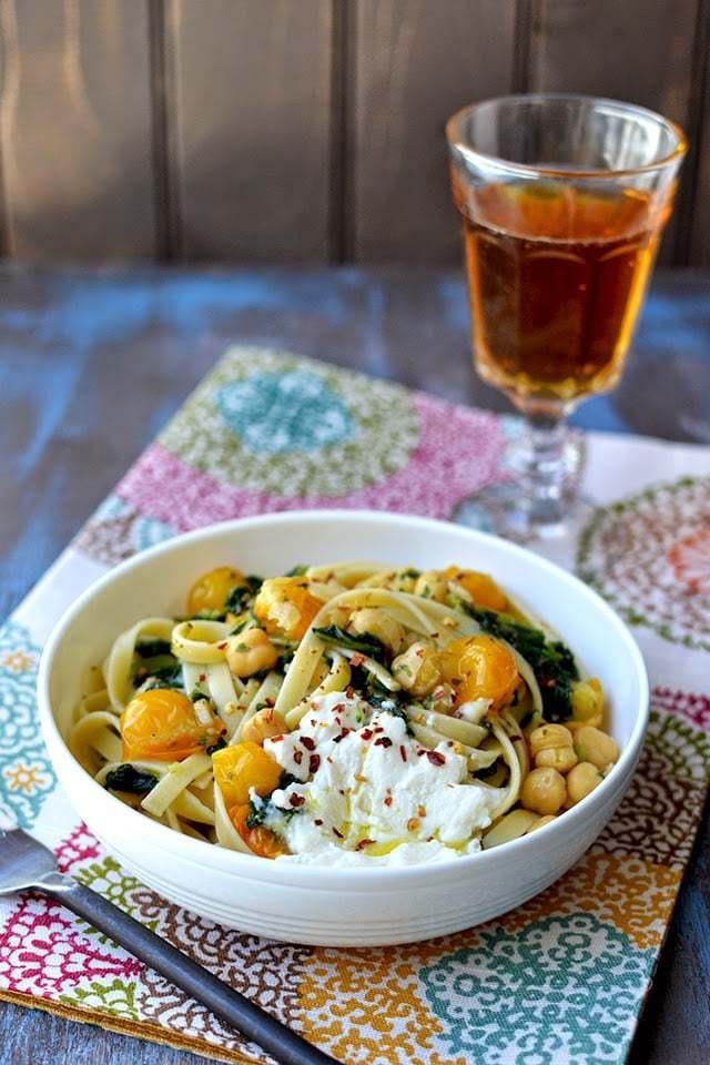 Cherry Tomato & Kale Pasta Recipe | HeyFood — heyfoodapp.com