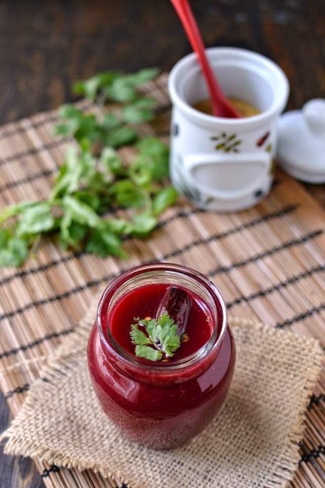 Beet-Tomato Rasam Recipe | HeyFood — heyfoodapp.com