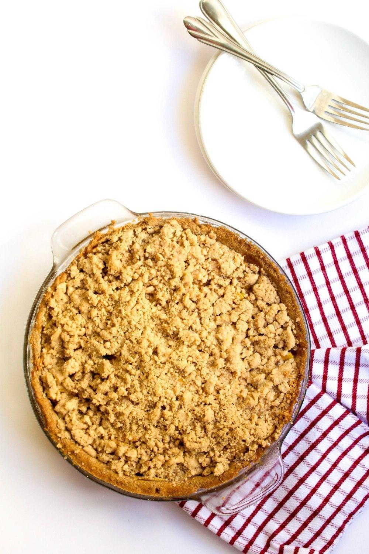Dutch Apple Pie (Gluten Free + Dairy-Free)