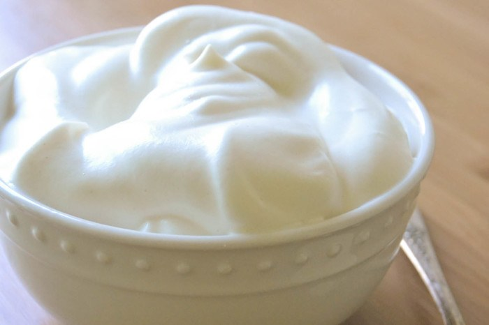 All Natural Fat Free Whipped 'Cream' Recipe | HeyFood — heyfoodapp.com