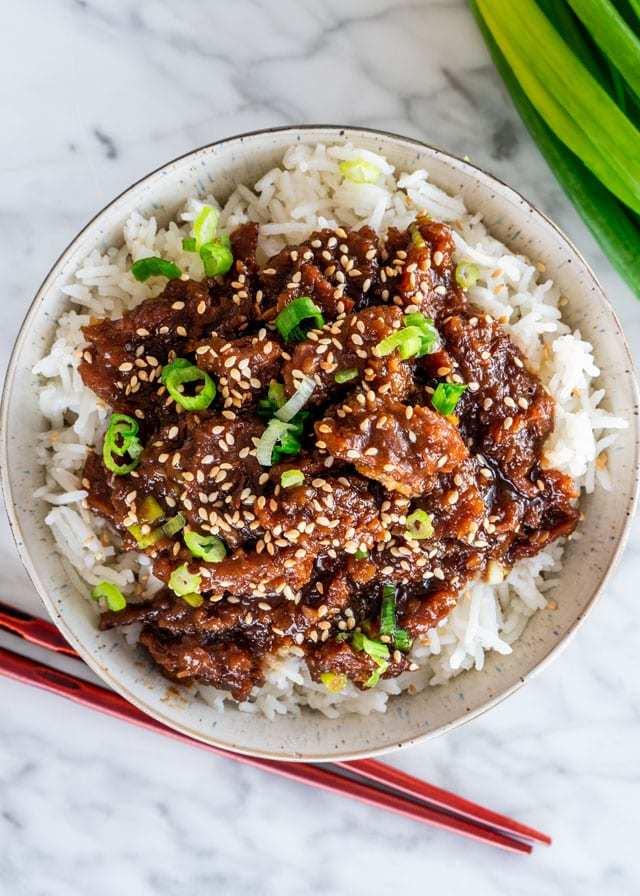 Instant Pot Mongolian Beef Recipe | HeyFood — heyfoodapp.com