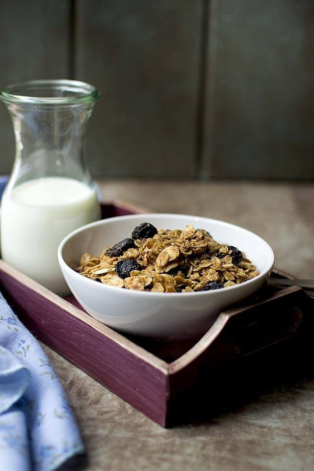Almond Butter Granola Recipe | HeyFood — heyfoodapp.com