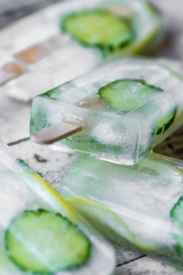 Cucumber Lemon Spa Popsicles Recipe | HeyFood — heyfoodapp.com