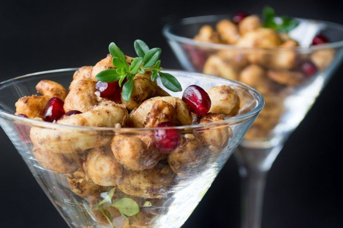 Za'atar Roasted Cashews Recipe   HeyFood — heyfoodapp.com