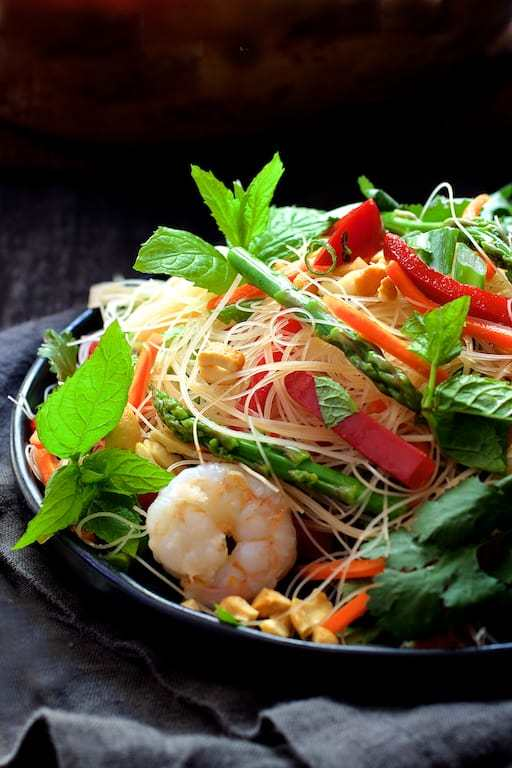 Vietnamese Spring Roll Salad Recipe | HeyFood — heyfoodapp.com