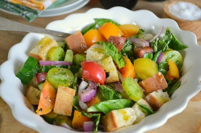 Panzanella Salad Recipe | HeyFood — heyfoodapp.com