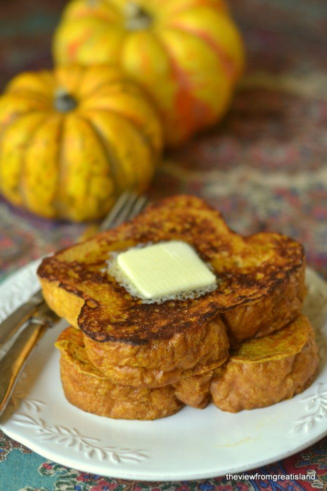 Pumpkin French Toast Recipe | HeyFood — heyfoodapp.com