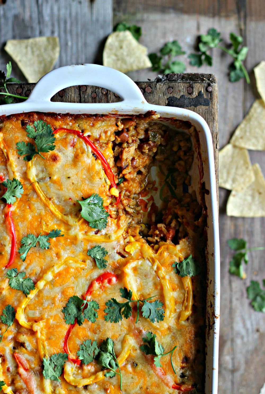 Mexican Chicken Casserole Recipe | HeyFood — heyfoodapp.com