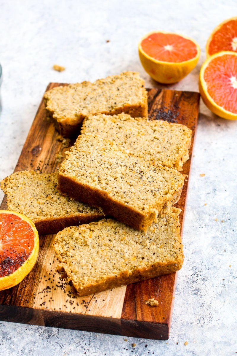 Gluten Free Orange Poppy Seed Bread Recipe | HeyFood — heyfoodapp.com
