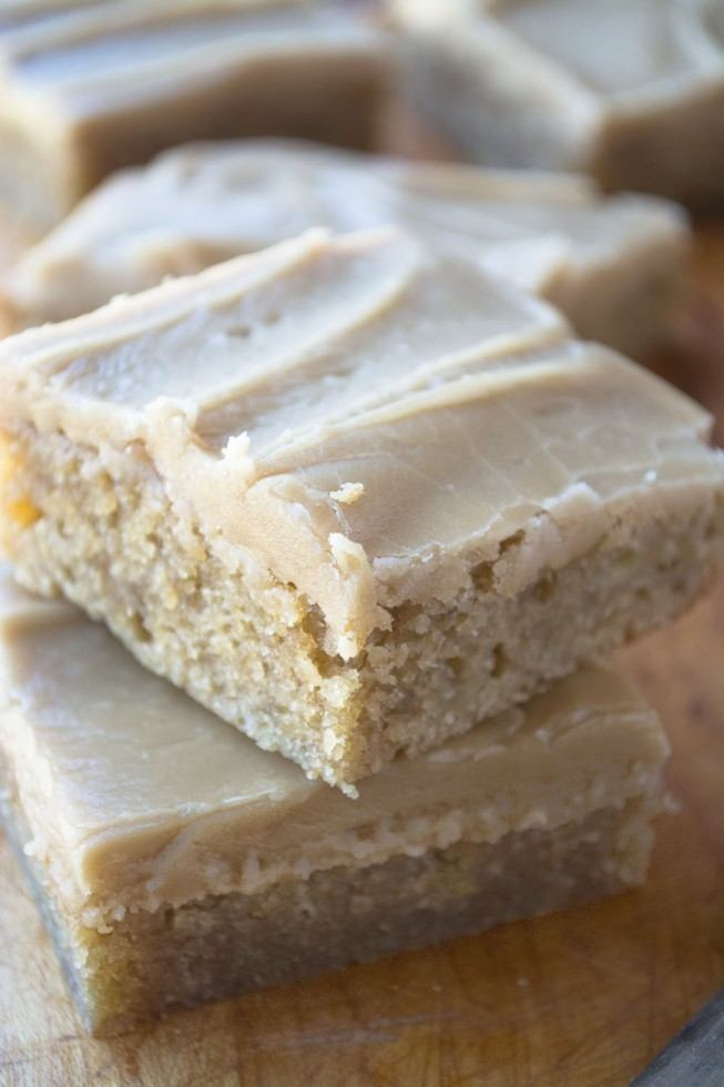 Banana Blondies Recipe | HeyFood — heyfoodapp.com