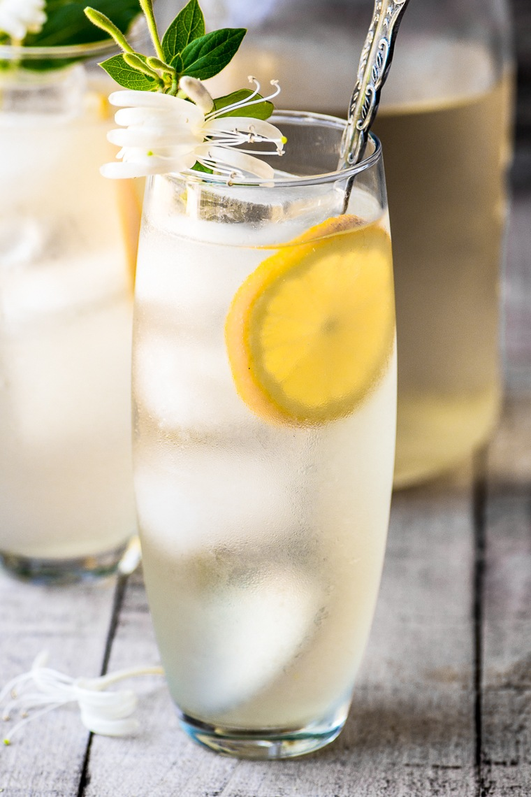 Honeysuckle Vodka Lemonade Recipe | HeyFood — heyfoodapp.com