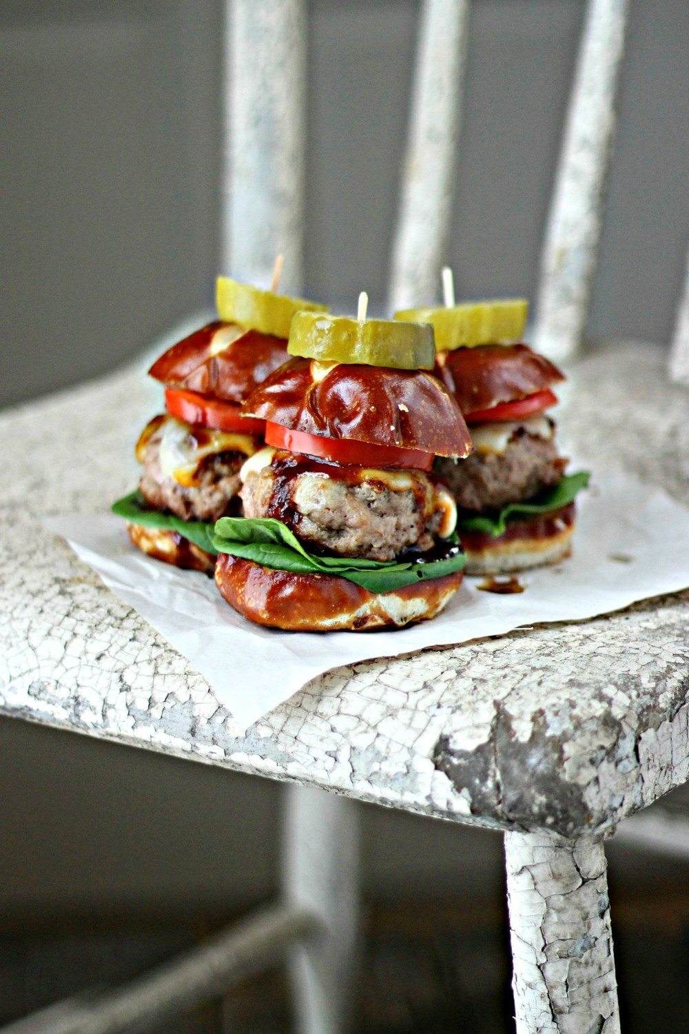 Mini Guinness Pork Burgers with Guinness BBQ Sauce Recipe | HeyFood — heyfoodapp.com