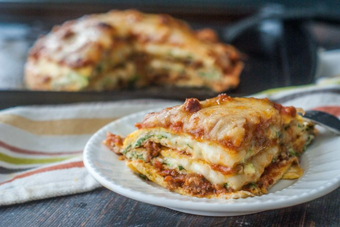 Low Carb Lasagna (gluten free) Recipe | HeyFood — heyfoodapp.com