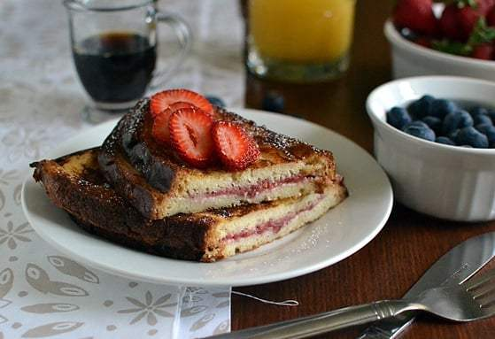 Stuffed French Toast Recipe | HeyFood — heyfoodapp.com