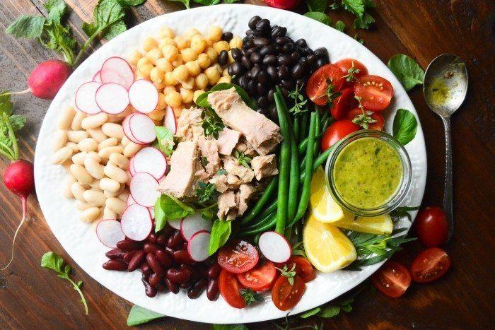 Mediterranean Tuna Salad with Tarragon Vinaigrette Recipe | HeyFood — heyfoodapp.com