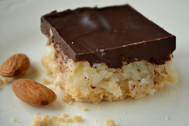 Almond Joy Bars Recipe | HeyFood — heyfoodapp.com