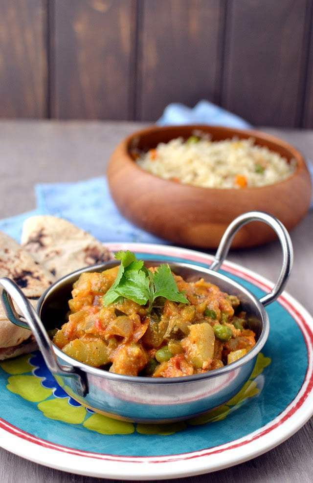 Zucchini Masala Curry Recipe   HeyFood — heyfoodapp.com