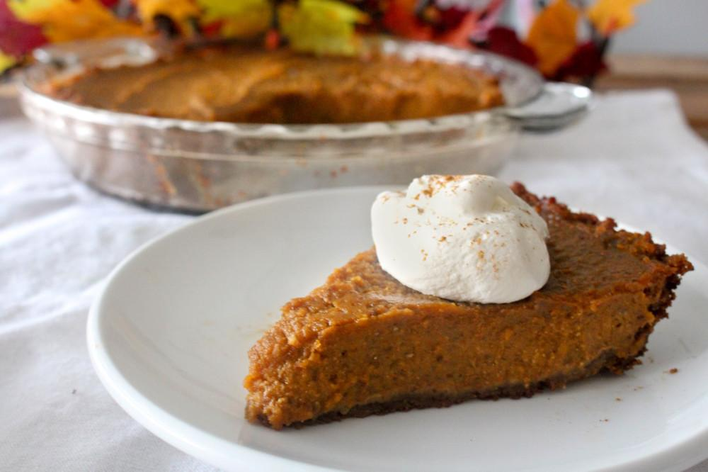 Pumpkin Pie Recipe | HeyFood — heyfoodapp.com