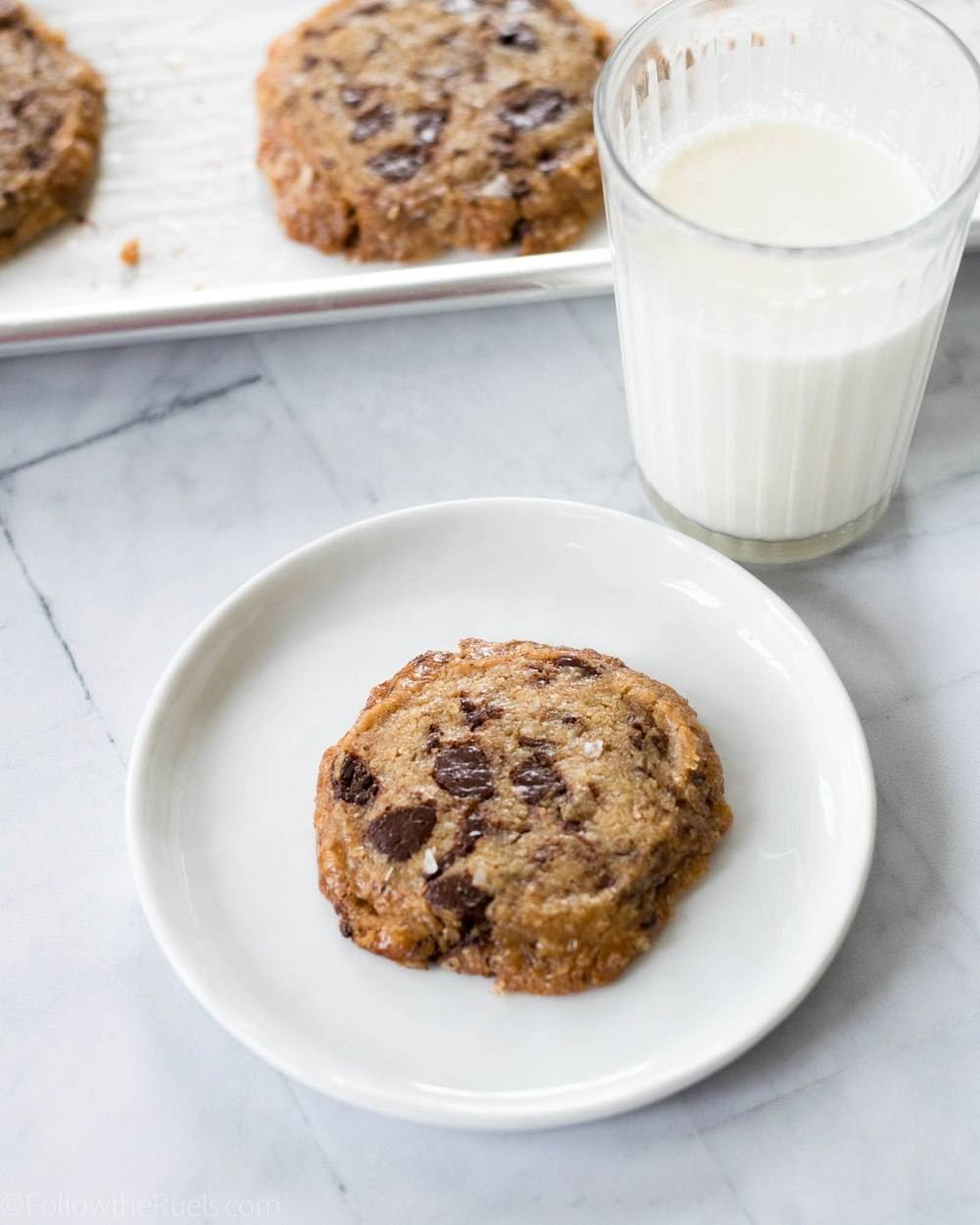Chocolate Chip Shortbread Cookies Recipe | HeyFood — heyfoodapp.com