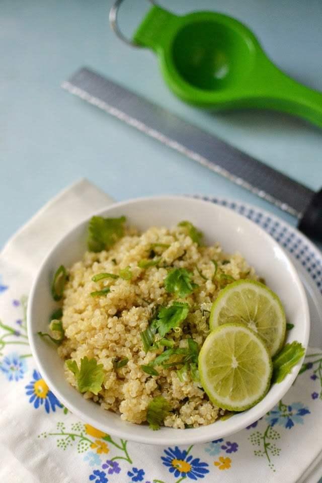Cilantro Lime Quinoa Recipe | HeyFood — heyfoodapp.com