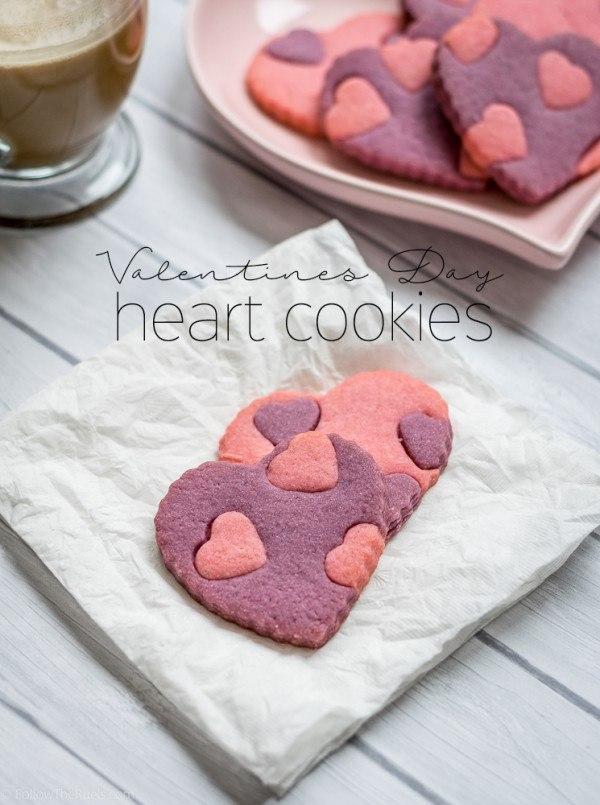Valentine's Day Heart Cookies Recipe | HeyFood — heyfoodapp.com