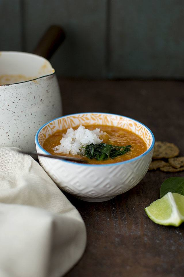 Indian style Red Lentil Soup Recipe | HeyFood — heyfoodapp.com