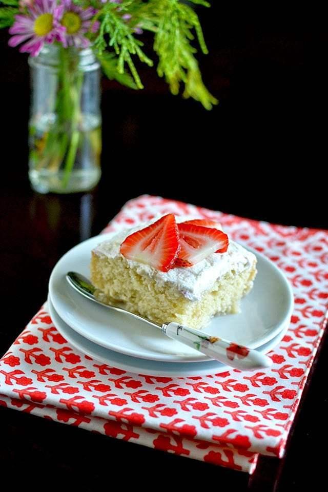 Tres Leche Cake (Vegan Recipe) Recipe | HeyFood — heyfoodapp.com