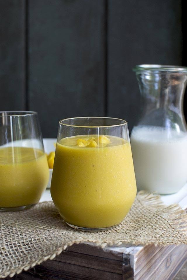 Batido (Tropical Mango & Passionfruit Smoothie) Recipe | HeyFood — heyfoodapp.com
