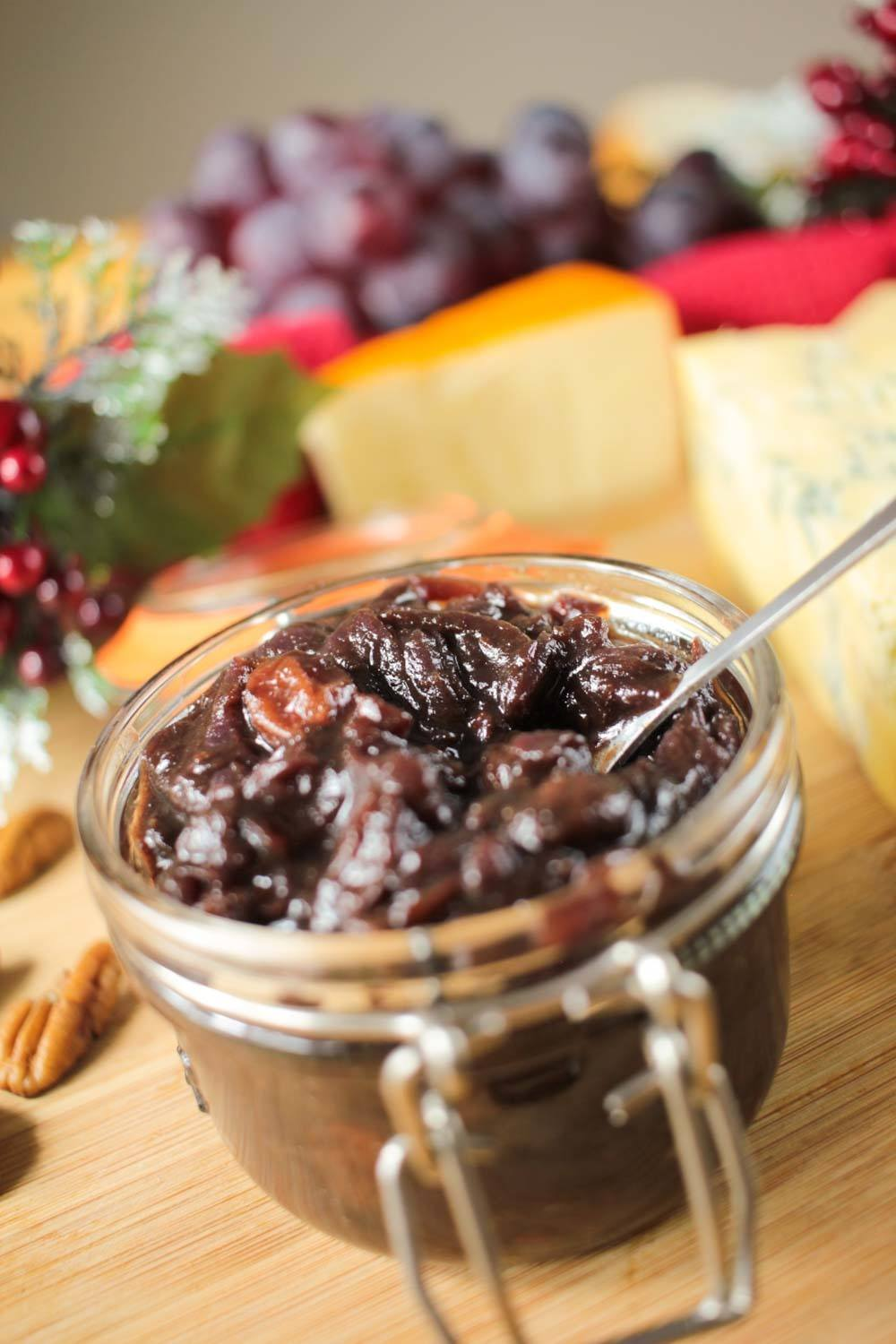 Christmassy Red Onion and Sultana Chutney Recipe | HeyFood — heyfoodapp.com
