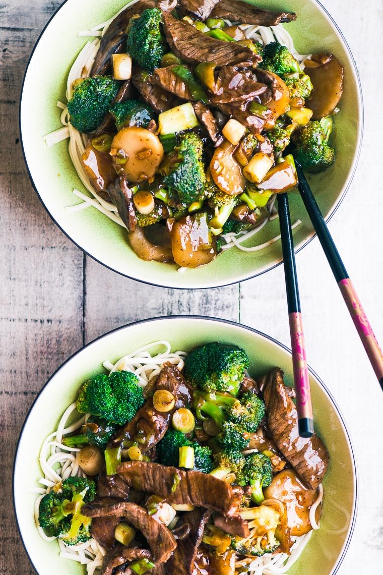 Beef Broccoli Noodle Bowls Recipe | HeyFood — heyfoodapp.com