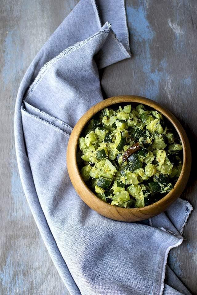 Zucchini Thoran Recipe | HeyFood — heyfoodapp.com