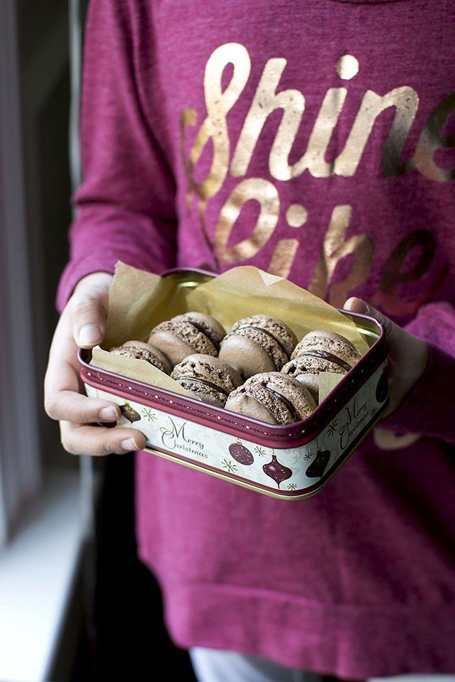 Chocolate Macarons Recipe Recipe | HeyFood — heyfoodapp.com