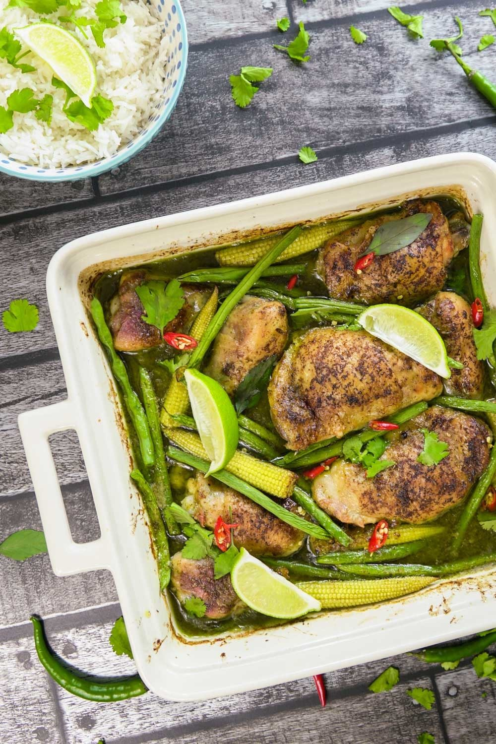 Thai Green Curry Traybake Recipe | HeyFood — heyfoodapp.com