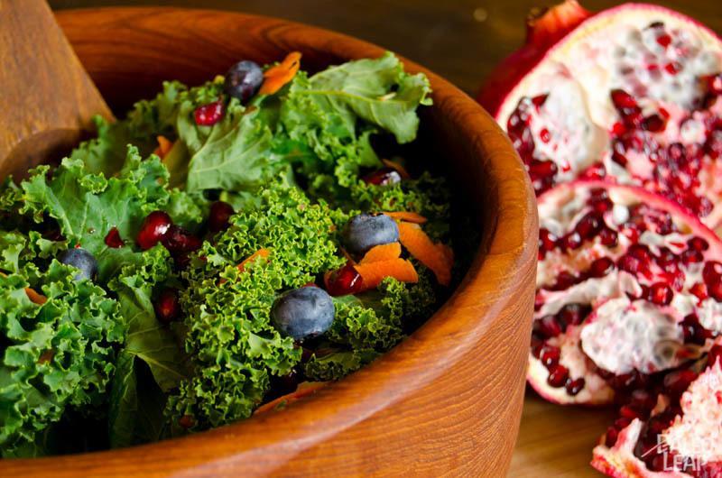 Raw Kale Salad Recipe | HeyFood — heyfoodapp.com
