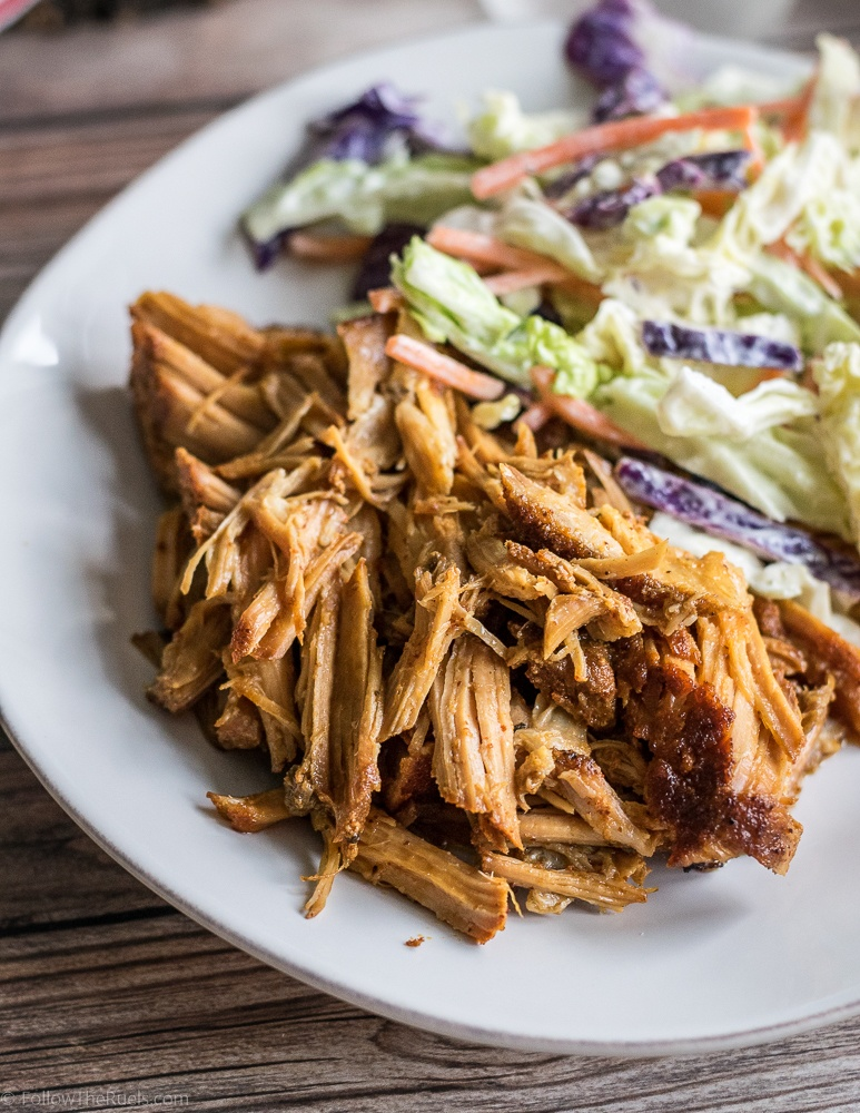 Small Batch Slow Cooker Pulled Pork Recipe | HeyFood — heyfoodapp.com