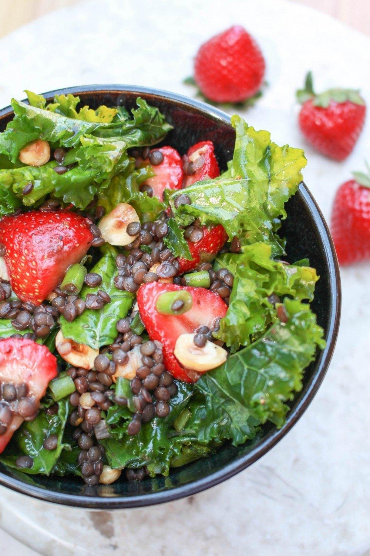 Summer Kale Salad Recipe | HeyFood — heyfoodapp.com