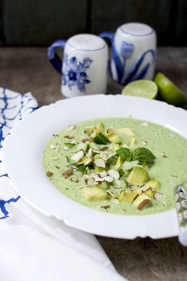 Creamy Cucumber Gazpacho Recipe | HeyFood — heyfoodapp.com