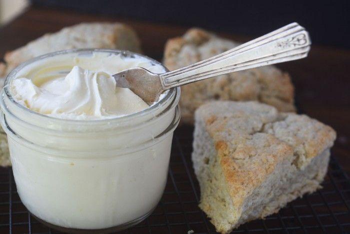 Homemade Clotted Cream  Recipe | HeyFood — heyfoodapp.com