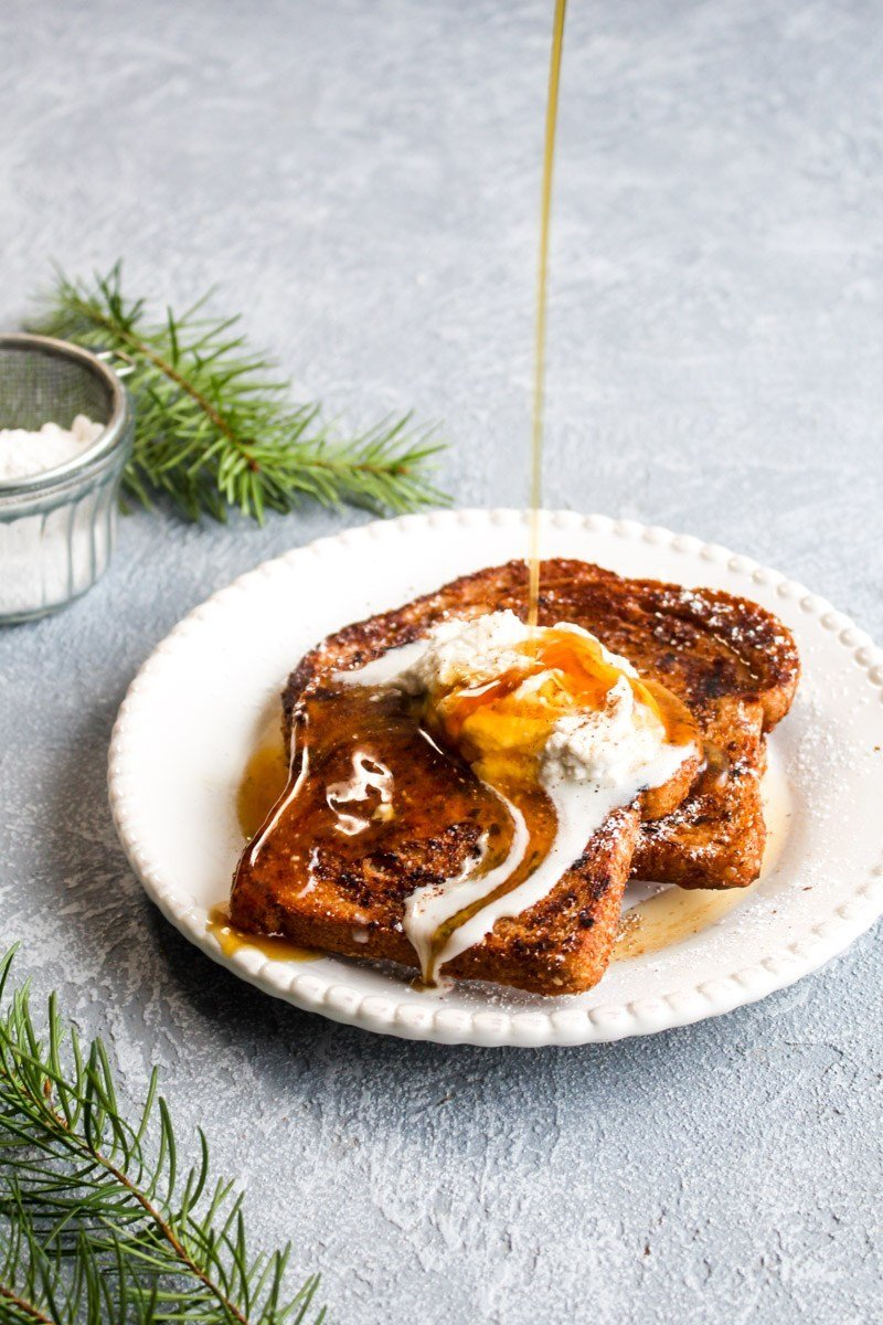 Eggnog French Toast Recipe | HeyFood — heyfoodapp.com