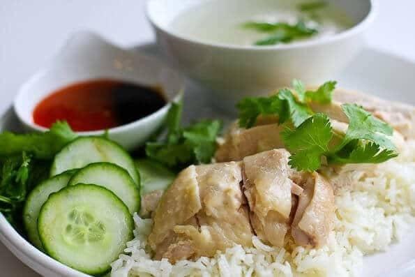 Hainanese Chicken Rice Recipe | HeyFood — heyfoodapp.com