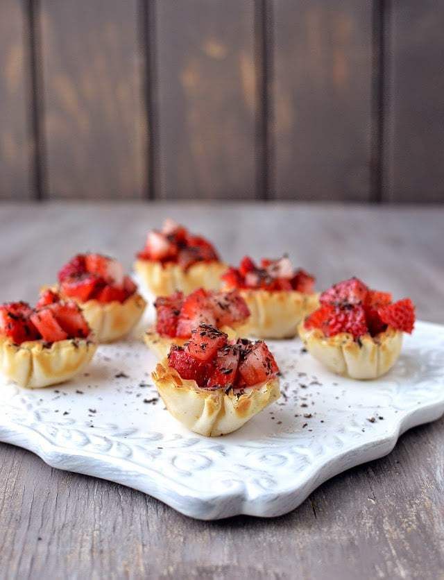 Strawberry Tartlets Recipe | HeyFood — heyfoodapp.com