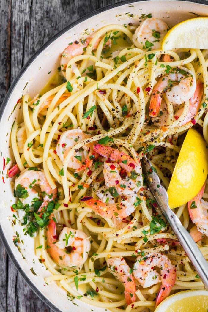 Shrimp Scampi Fra Diavolo Recipe | HeyFood — heyfoodapp.com