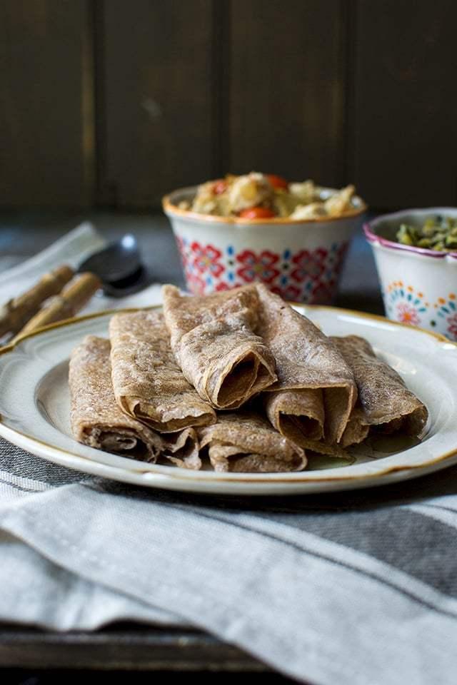 Quick Ethiopian Flatbread (Injera Style) Recipe | HeyFood — heyfoodapp.com