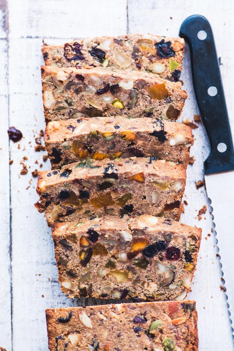 Paleo Fruit and Nut Breakfast Bread Recipe | HeyFood — heyfoodapp.com