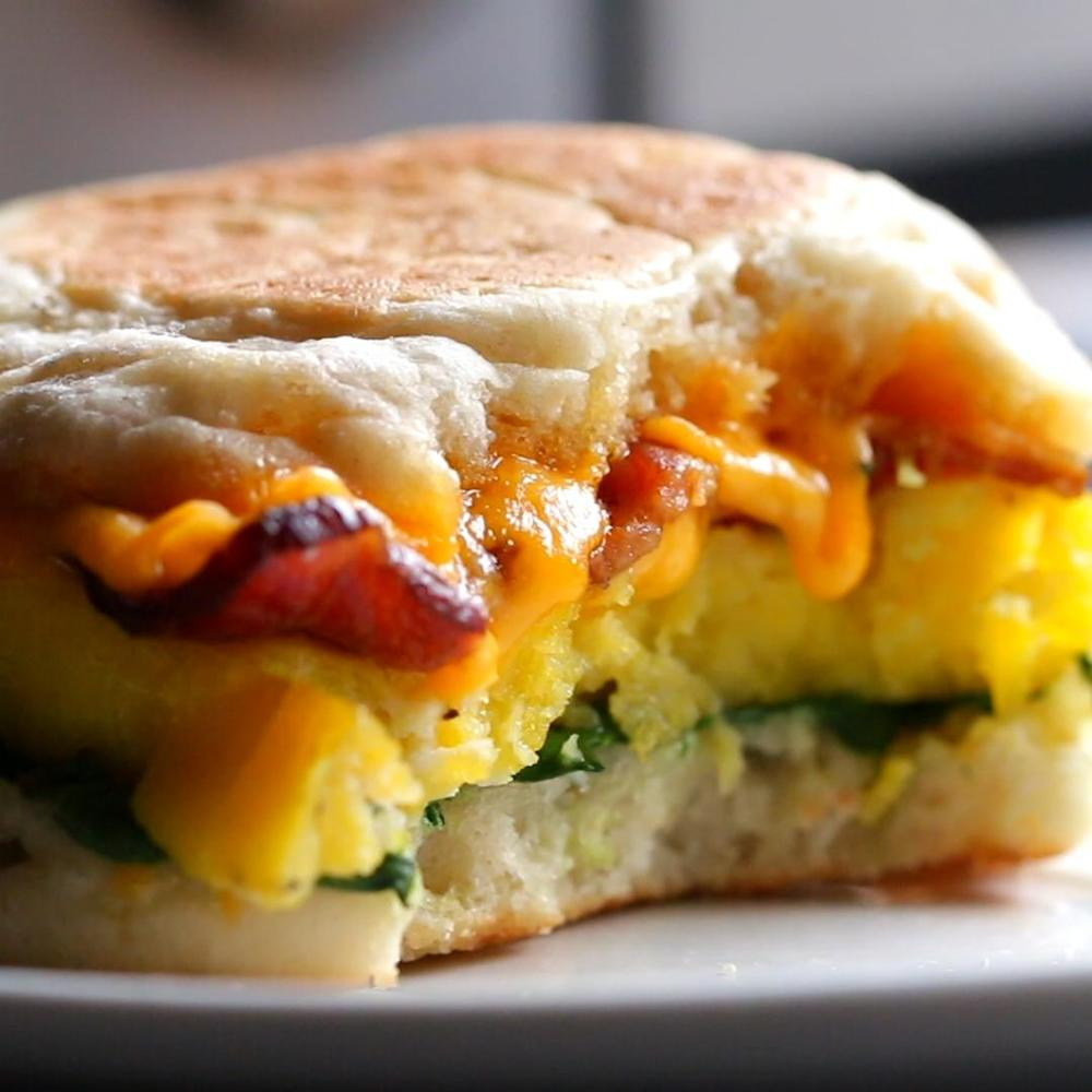 Microwave Prep Breakfast Sandwiches Recipe By Tasty Recipe | HeyFood — heyfoodapp.com